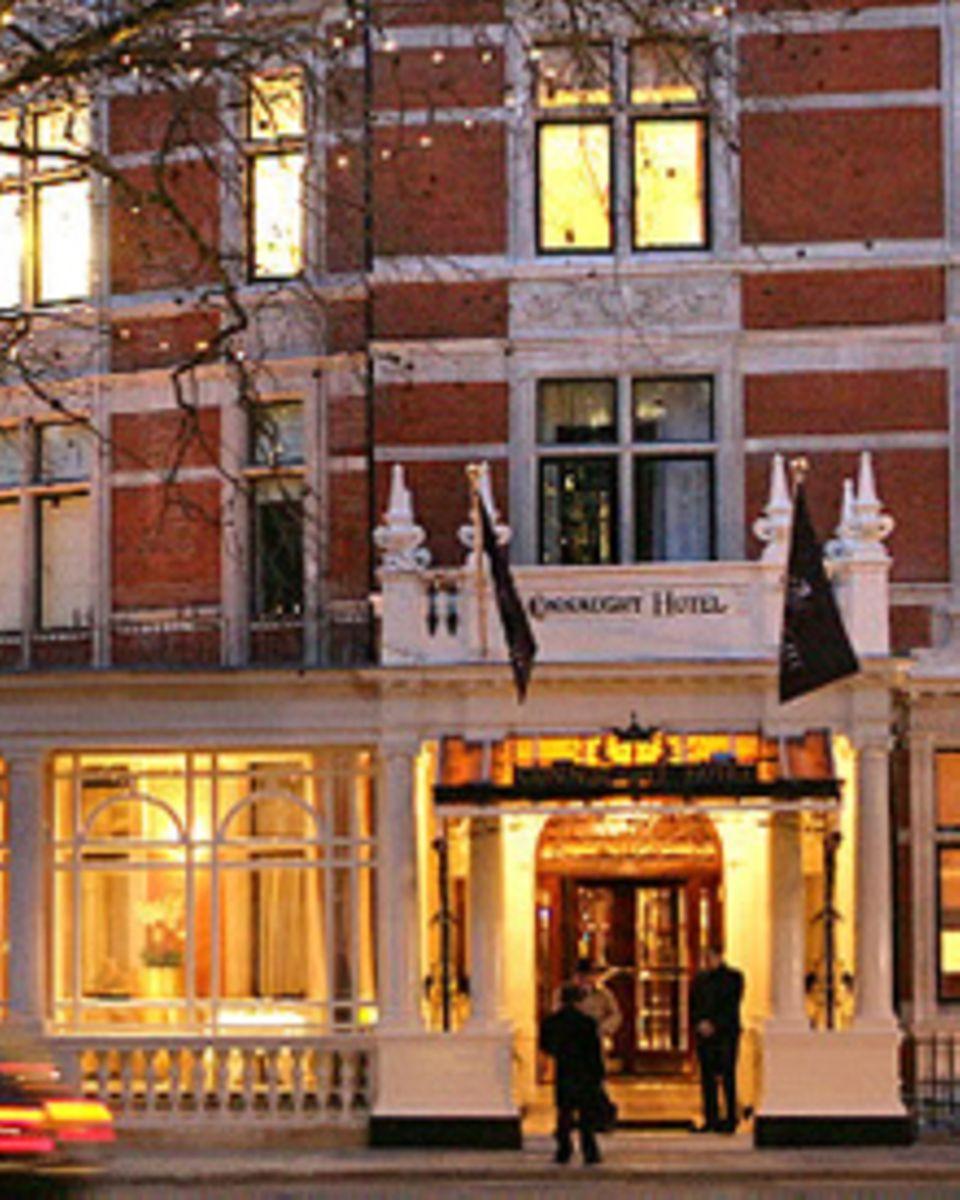 """Das 5-Sterne-Hotel """"The Connaught"""" In London erwartet Sie."""