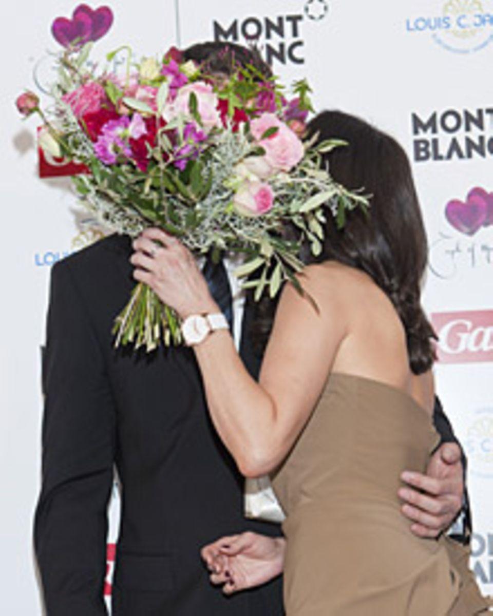 """""""Bei mir war es Liebe auf den ersten Blick. Leider musste ich Natalia erst von meinem Blick überzeugen."""" sagt Vitali Klitschko ü"""