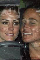 Kate Middleton + Pippa Middleton