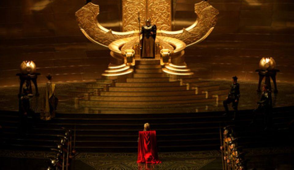Goldener, größer, ganz schön kitschig: Asgard, die Götterfeste