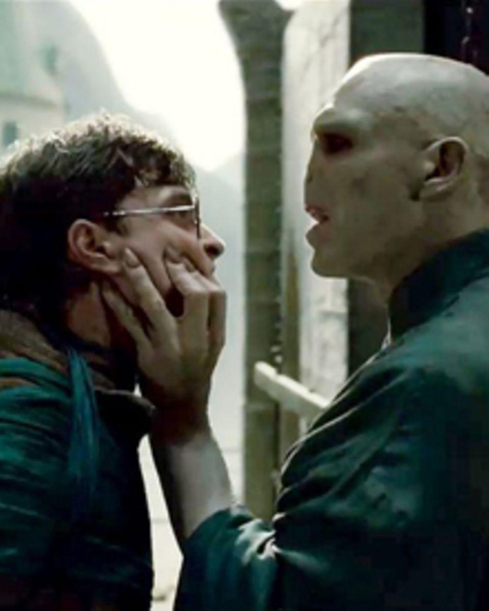 """In """"Heiligtümer des Todes"""" muss Harry Potter ein letztes Mal gegen Lord Voldemort antreten."""