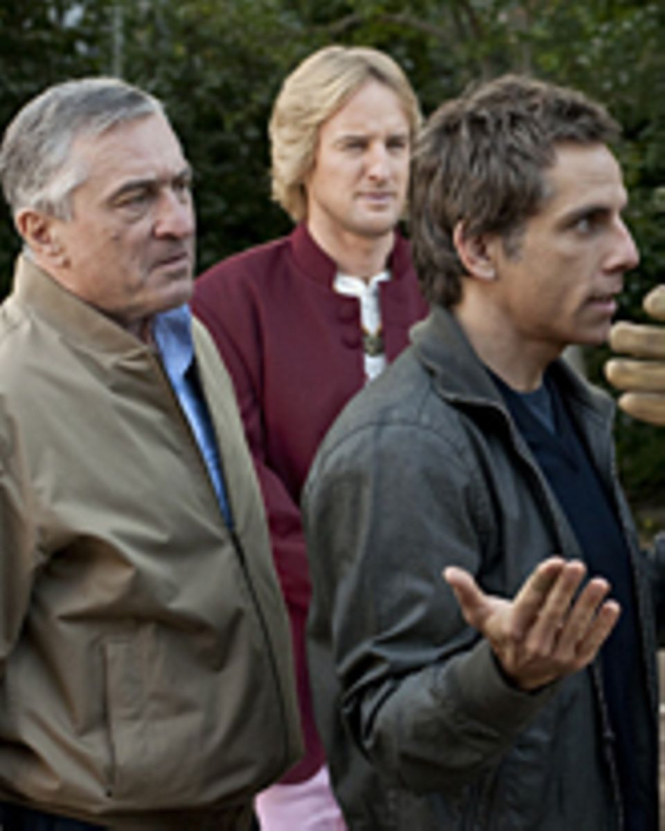 Robert De Niro, Owen Wilson, Ben Stiller