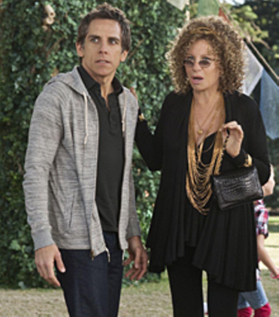 Roz Focker (Barbra Streisand) sorgt sich um ihren Sohn Greg (Ben Stiller).