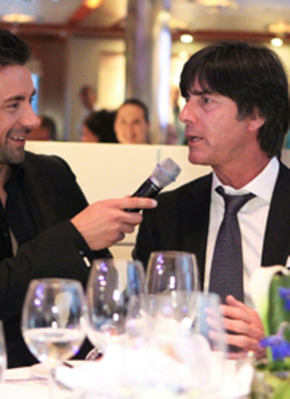 Bundestrainer Jogi Löw im Gespräch mit Marco Schreyl.