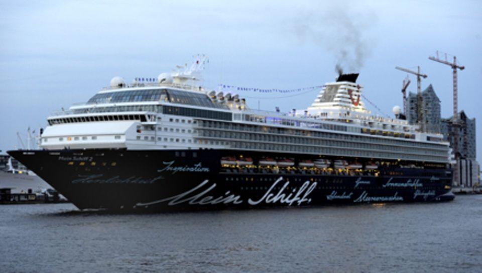 """Das Tui-Kreuzfahrtschiff """"Mein Schiff 2"""""""