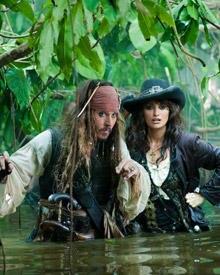 Gelungenes Gespann: Jack und Angelica (Penélope Cruz)
