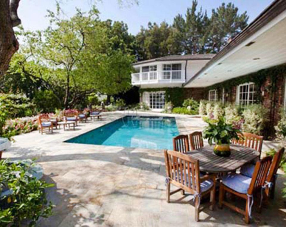Die Villa von Elizabeth Taylor verfügt unter anderem über einen Pool und fünf Schlafzimmer.