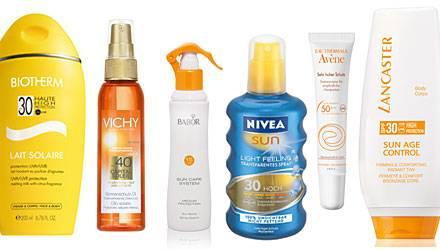 Für jeden Hauttyp gibt es heute den idealen Sonnenschutz - zum Auftragen oder Aufsprühen.