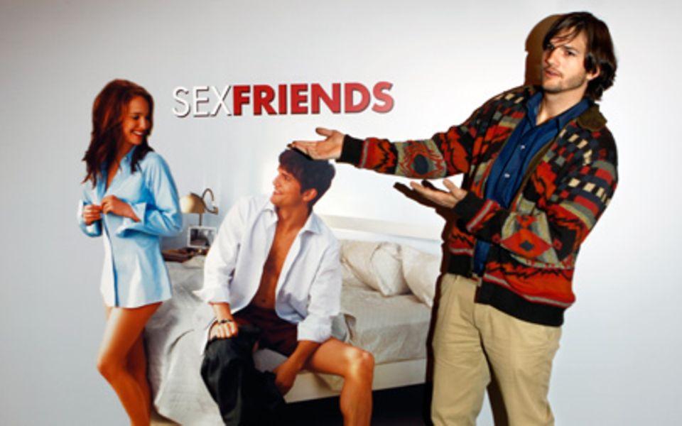 """Ashton Kutcher ist gut im Geschäft. Für seine Rolle neben Natalie Portman in """"Freundschaft Plus"""" bekam er viel Lob."""