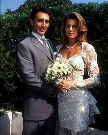 Am 1. Juli 1995 heiratet Prinzessin Stéphanie ihren ehemaligen Leibwächter Daniel Ducruet.