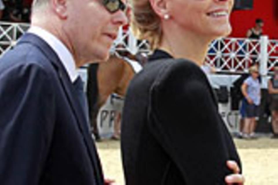 Fürst Albert, Charlene Wittstock