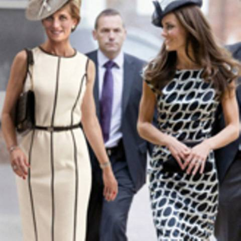 Prinzessin Diana + Kate Middleton