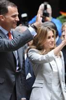 Prinz Felipe, Prinzessin Letizia