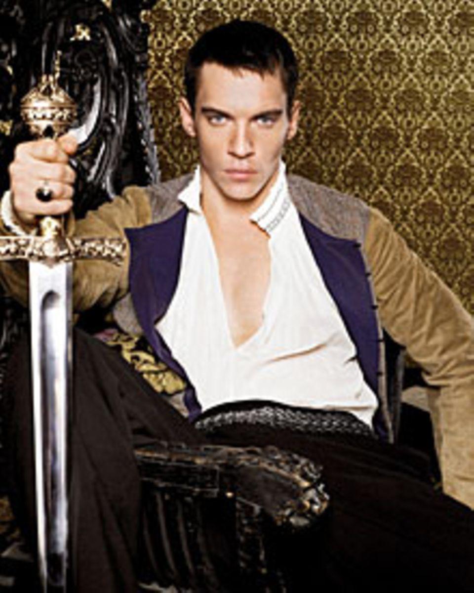 """Vor der Kamera ein König: In der Historien-Serie """"Die Tudors"""" machte Jonathan Rhys Meyers als Heinrich VIII. Furore. Zuletzt dre"""