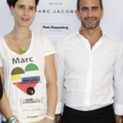 Alexandra Kiesel und Marc Jacobs