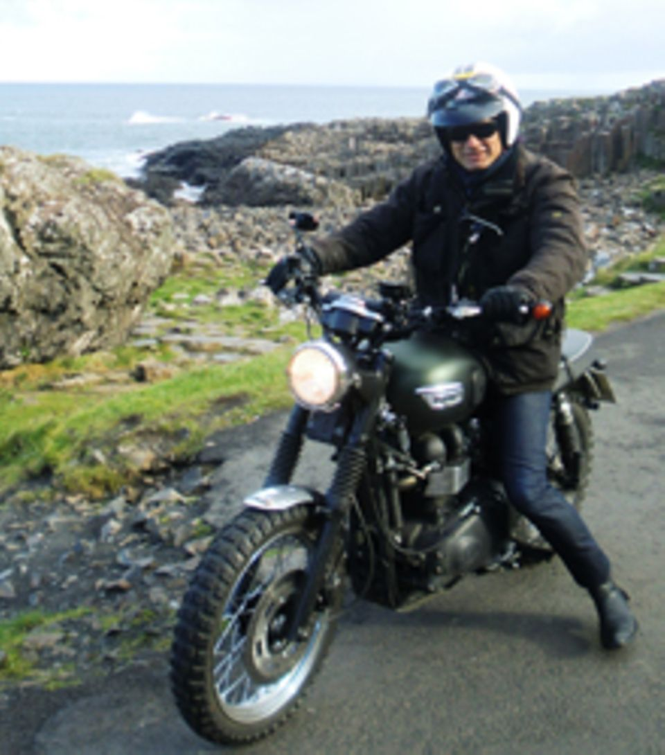 Mit dem Motorrad durch Nordirland: Ralf Bauer war unterwegs.