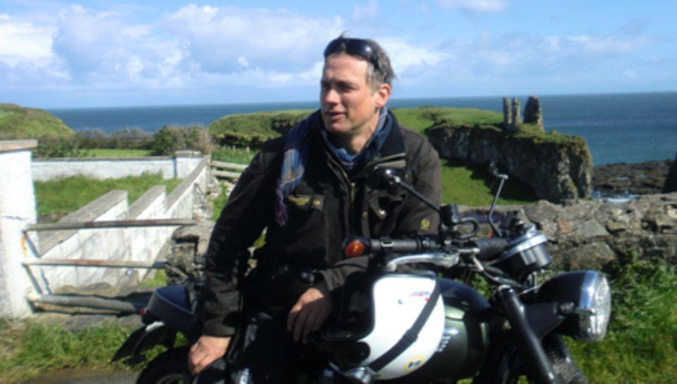 """Für """"Das ist mein Nordirland"""" erkundete Ralf Bauer eine Woche lang die grüne Insel."""