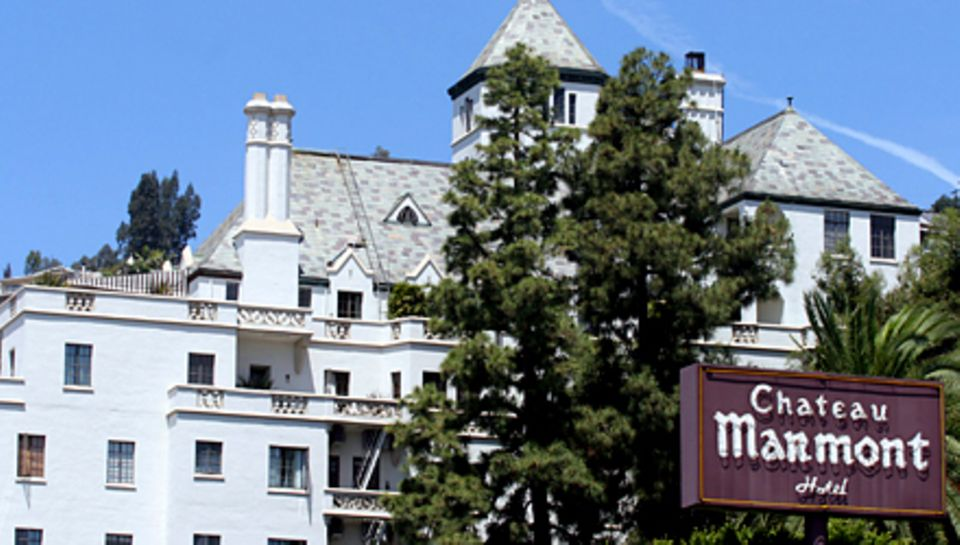 "Legendär: das Hotel ""Chateau Marmont"" am Sunset Boulevard."