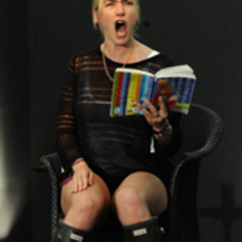 Kate Winslet beim Literatur-Festival in Cornwall