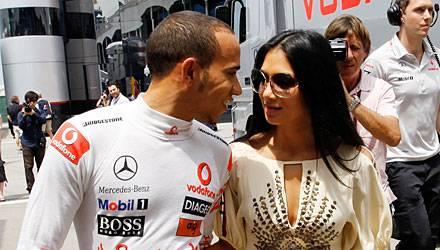 Seit vier Jahren ein Paar: Lewis Hamilton und Nicole Scherzinger.