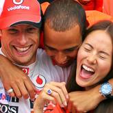 Jenson Button, Jessica Michibata