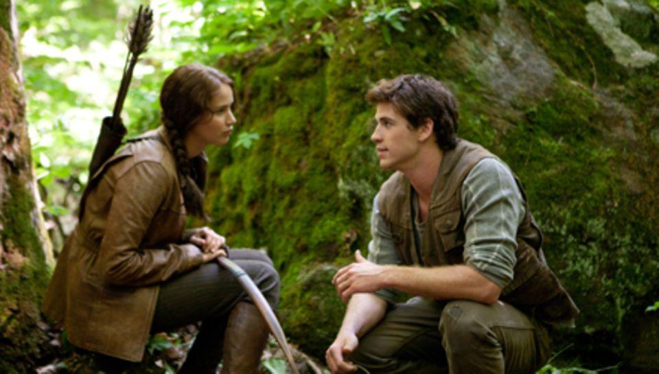 """Jennifer Lawrence war dieses Jahr für einen Oscar nominiert. In """"Die Tribute von Panem"""" spielt sie an der Seite von Liam Hemswor"""