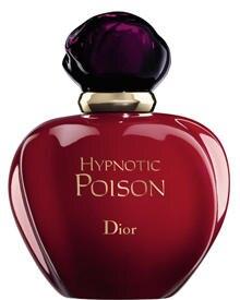 """""""Hypnotic Poison"""" betört mit floralen Noten und zartem Vanille-Aroma. 50 ml EdT, ca. 60 Euro"""