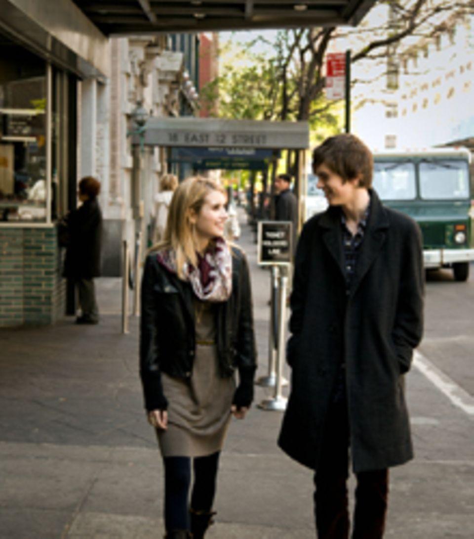 Spaziergang durch das New Yorker West Village statt Schule: Die Stadt spielt auch eine kleine Rolle im Film.