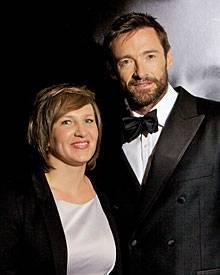 Gala ganz nah dran: Redakteurin Sandra Reitz traf Hugh Jackman in Berlin.