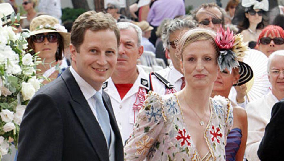 Wer Georg Friedrich Prinz von Preussen und Sophie Prinzessin von Isenburg erlebt, hat ein Traumpaar vor sich. Hier strahlen die