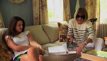 Anna Winour ganz privat mit ihrer Tochter Bee Shaffer.