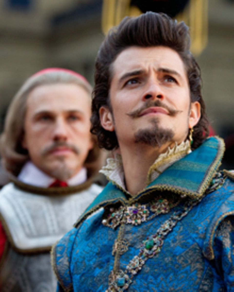 Überzeugen in ihren Rollen als Bösewichte: Orlano Bloom (vorne) und Christoph Waltz.