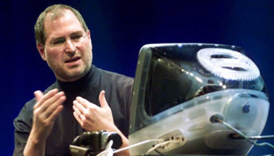 Vor elf Jahren musste Steve Jobs, hier bei einer Messe in Tokio, noch nicht gegen den Krebs kämpfen.