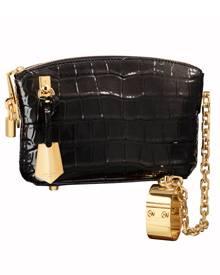 """""""Lockit""""-Clutch von Louis Vuitton, ca. 10 000 Euro"""
