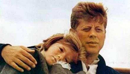 Sweet Caroline: Vater und Tochter Kennedy im Sommer 1963, wenige Monate vor dem Attentat von Dallas.