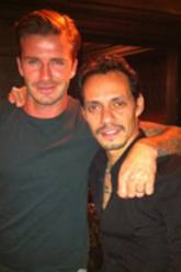 David Beckham, Marc Anthony