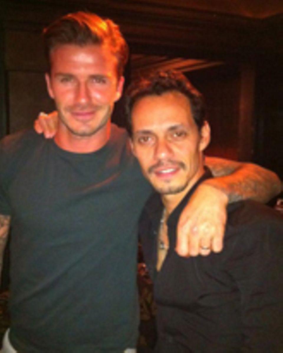 David Beckham, Marc Anthony