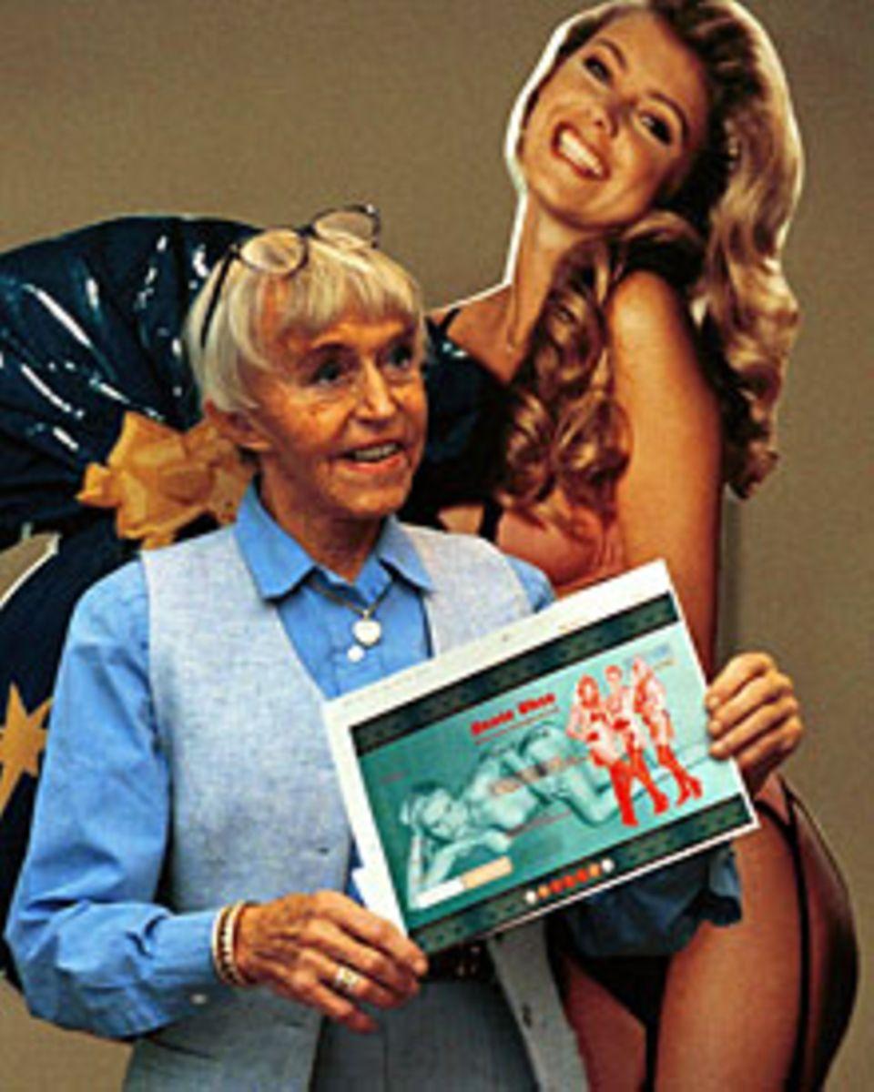 Beate Uhse war die erste Sexunternehmerin Deutschland, hier im Jahr 1999.