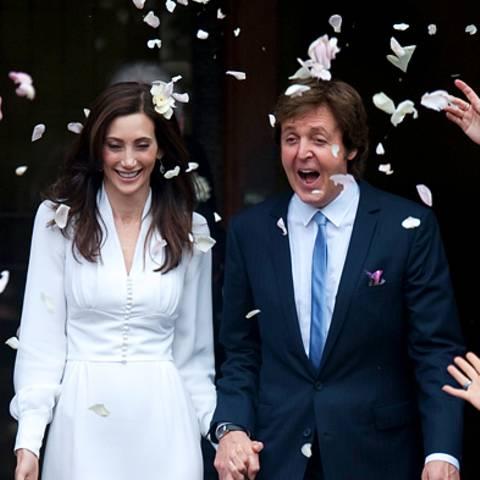 Hochzeit Paul McCartney