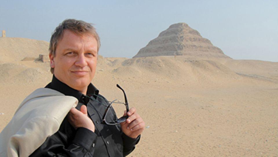 Insgesamt 100 Tage war Hape Kerkeling auf großer Fahrt, hier in Ägypten.