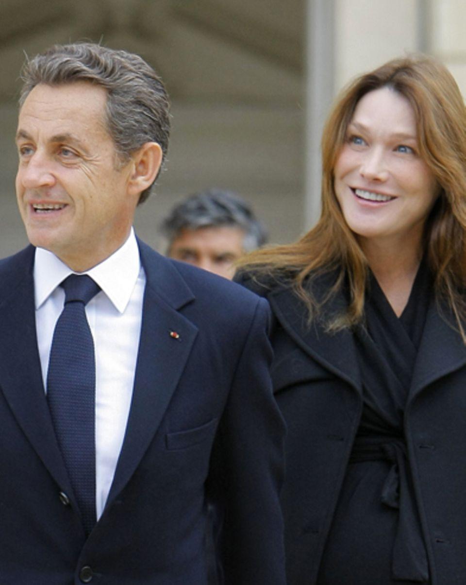 Nicolas Sarkozy + Carla Bruni