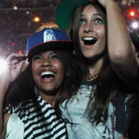 Paris Jackson + Chris Brown