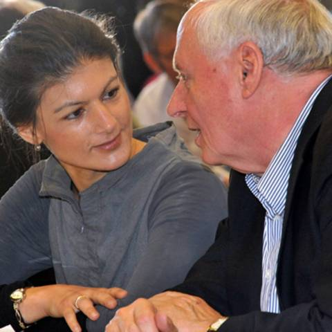 Oskar Lafontaine + Sahra Wagenknecht