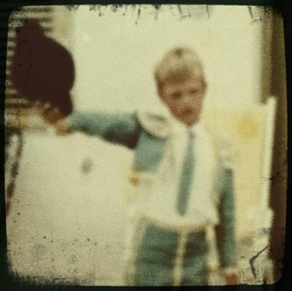 Kleiner Torero: Berkels Lieblingsrolle als Kind - sein Vater spielte den Stier.
