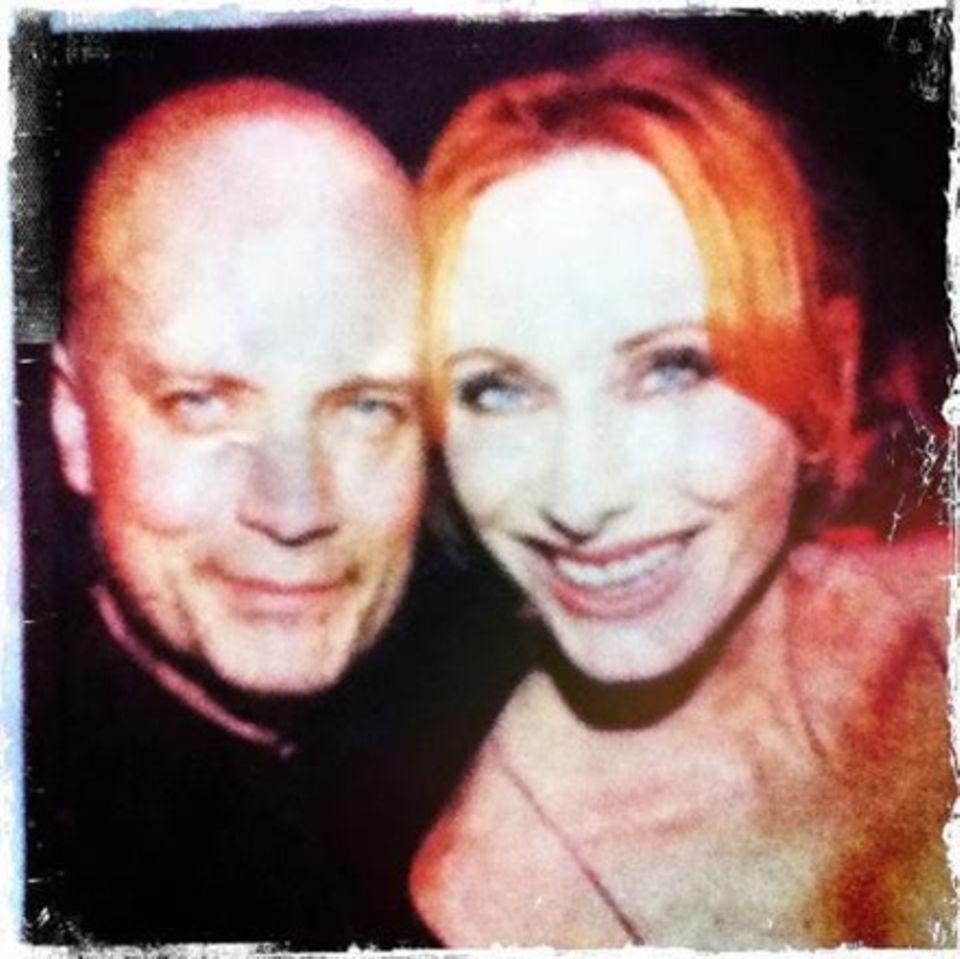 Große Liebe: Mit Schauspielerin Andrea Sawatzki ist Christian Berkel seit 1998 liiert.