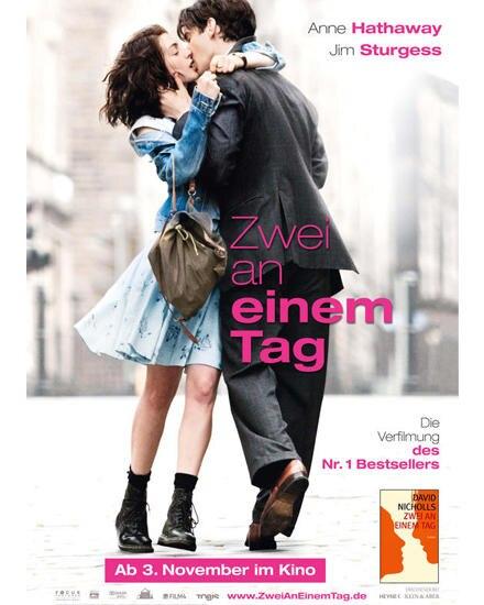 """In der Verfilmung von David Nicholls' Bestseller """"Zwei an einem Tag"""" beweist Anne Hathaway ihr Talent und ihre Wandelbarkeit"""