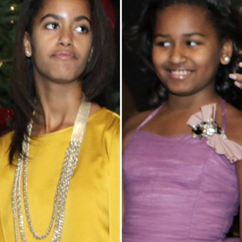 Malia und Sasha Obama