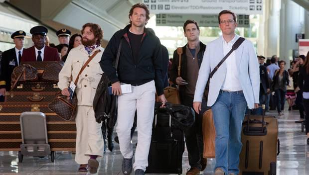 """Die Männerclique in """"Hangover II"""" fliegt gemeinsam zu einer Hochzeit in Thailand."""