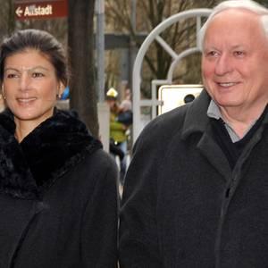 Sahra Wagenknecht und Oscar Lafontaine