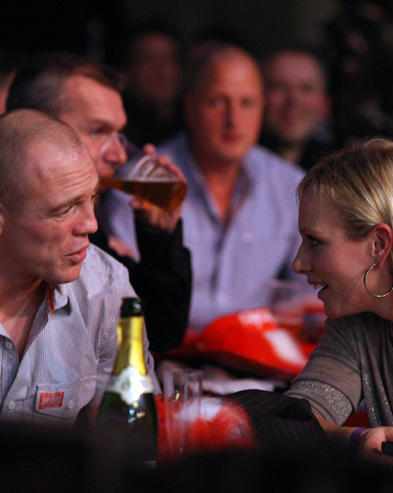 Zara Phillips und Mike Tindall